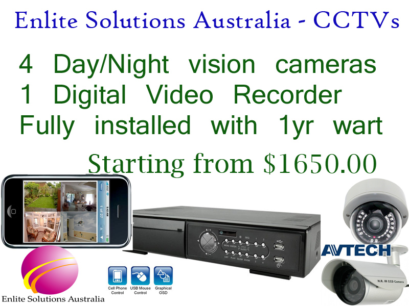 Enlite Solutions Pty Ltd. CCTV Cameras